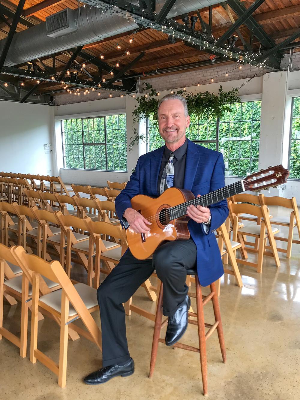 Guitar music for Dallas wedding