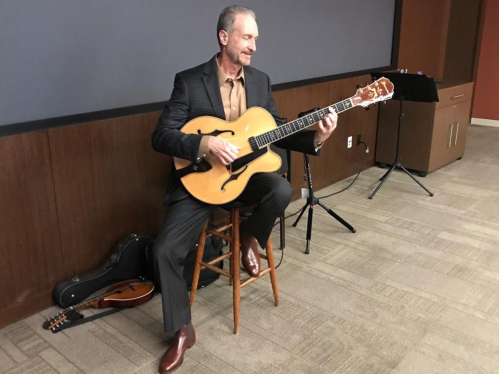 guitar for Dallas event