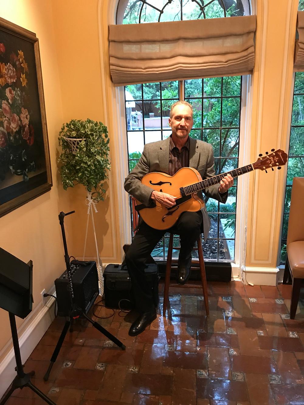 Dallas classical guitarist