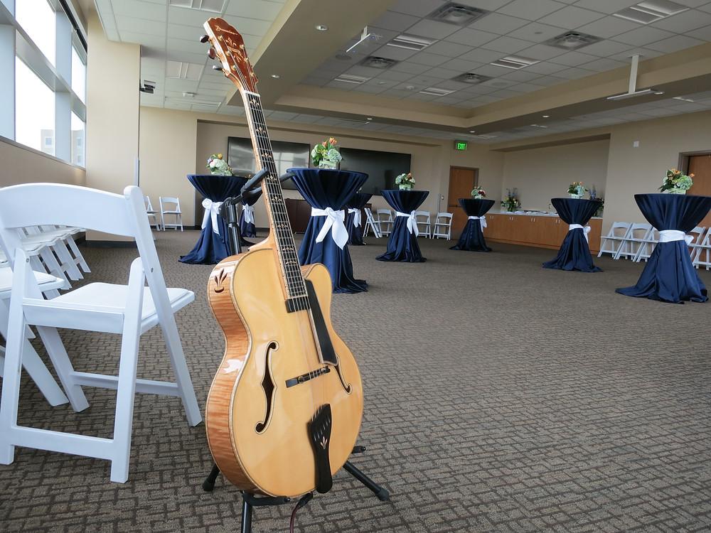 Live music at Parkland Hospital