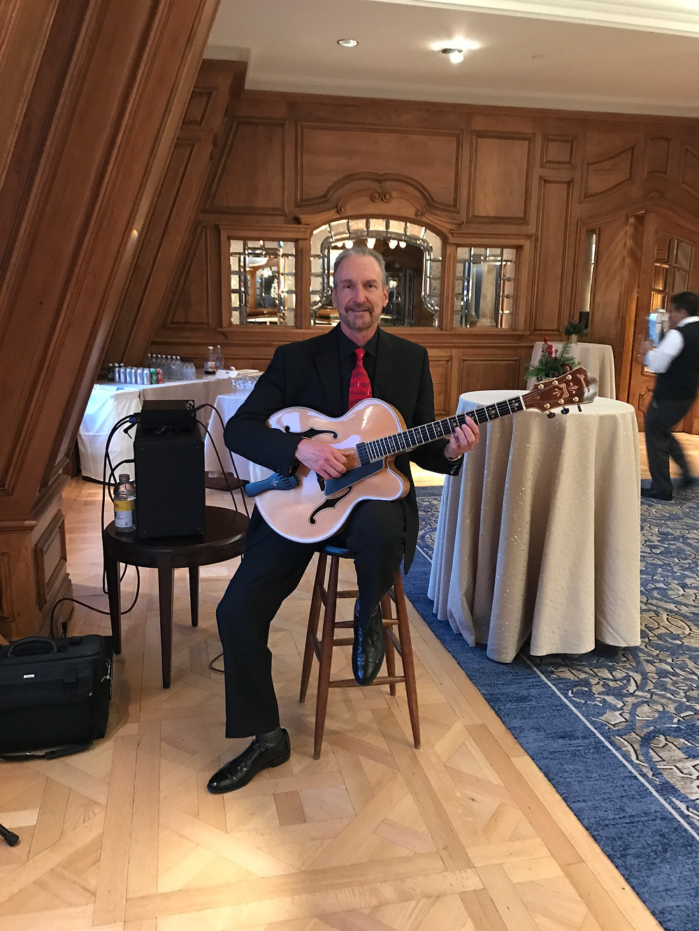 Guitar music for Corporate dinner
