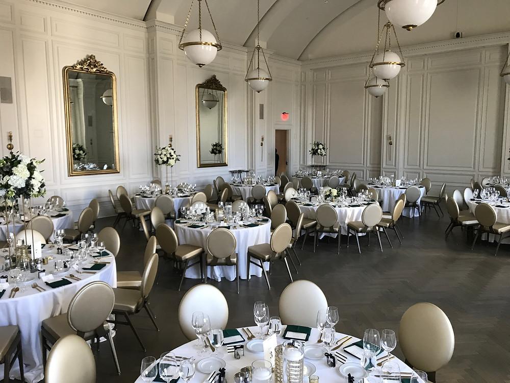 Adolphus Hotel wedding reception