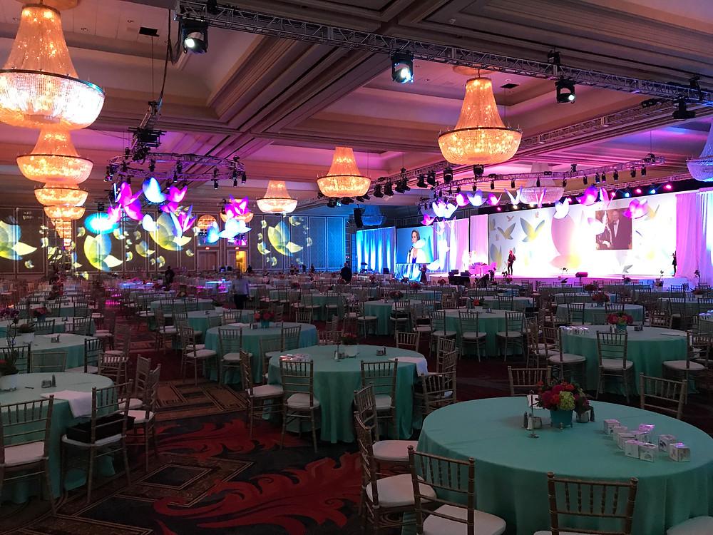 Hilton Anatole Chantilly Ballroom