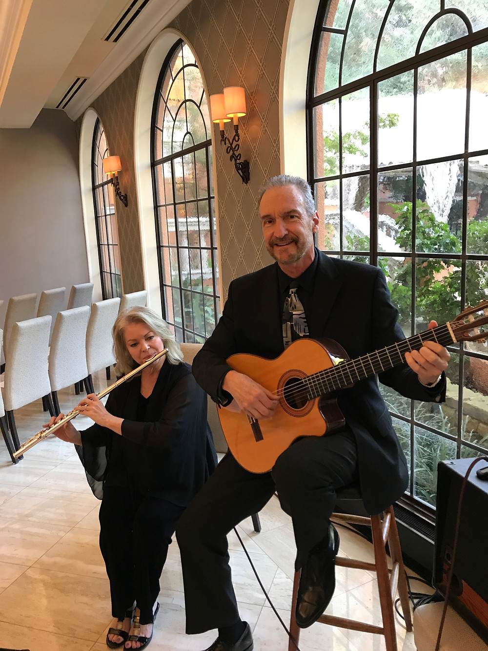 flute and guitar for Dallas wedding