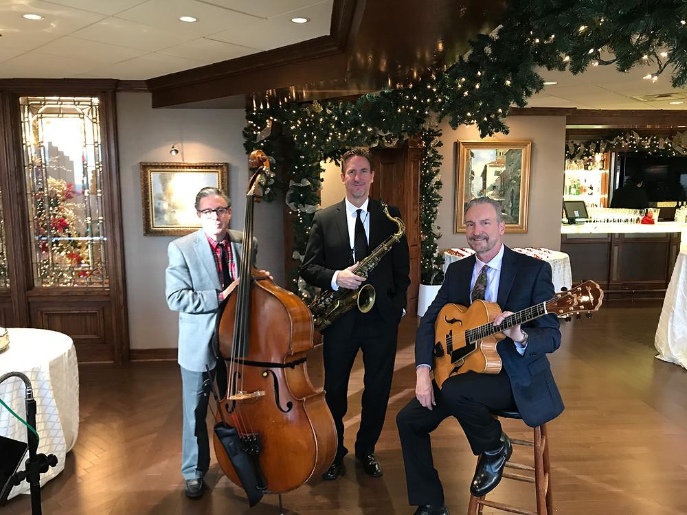 Dallas wedding reception trio