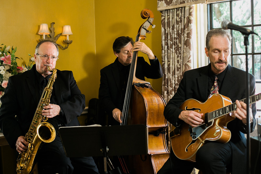 Jazz trio at the Mansion