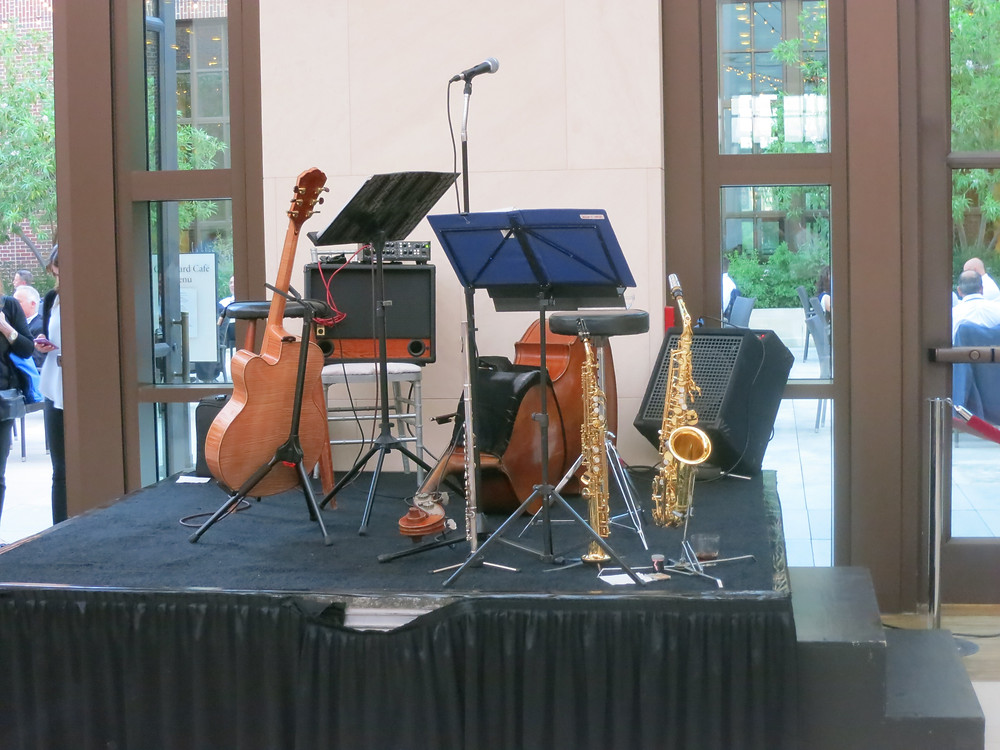 Jazz trio for Bush Presidential Center event
