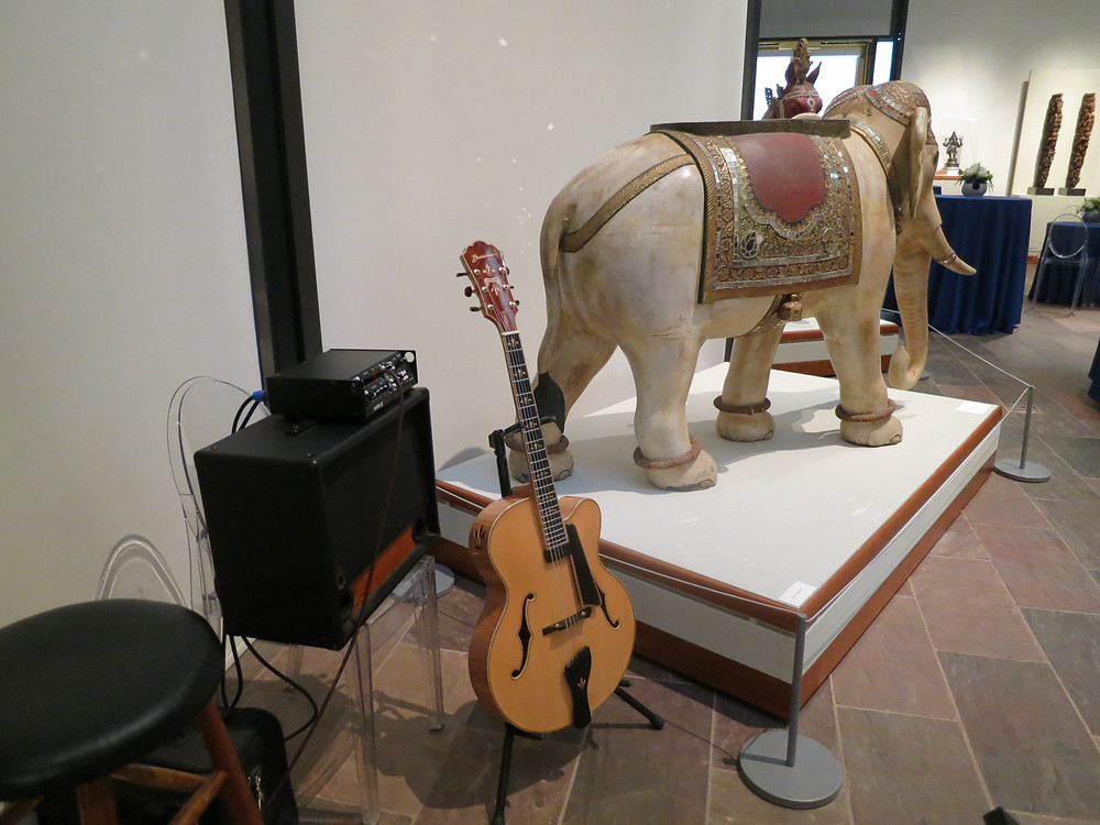 Classical guitar for Crow Collection event