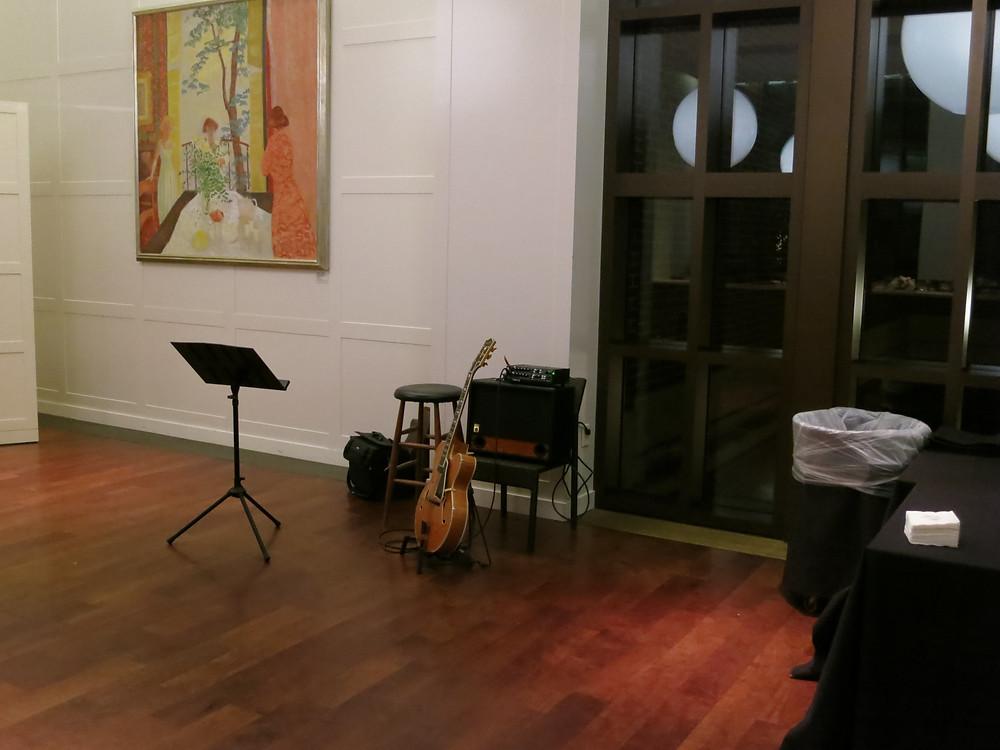 rehearsal dinner at Cafe 43