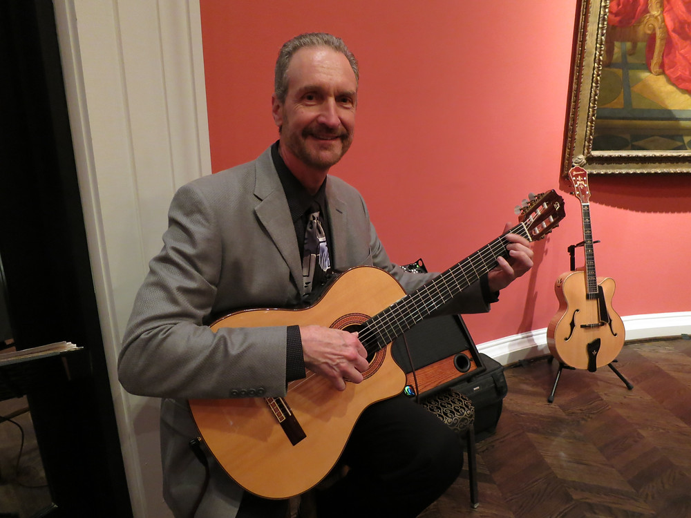 Classical guitar at the Meadows Museum