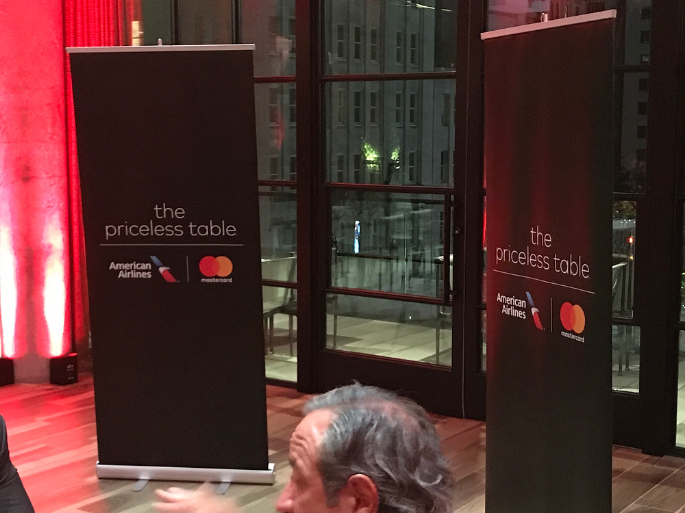 American Airlines and Mastercard promotional event