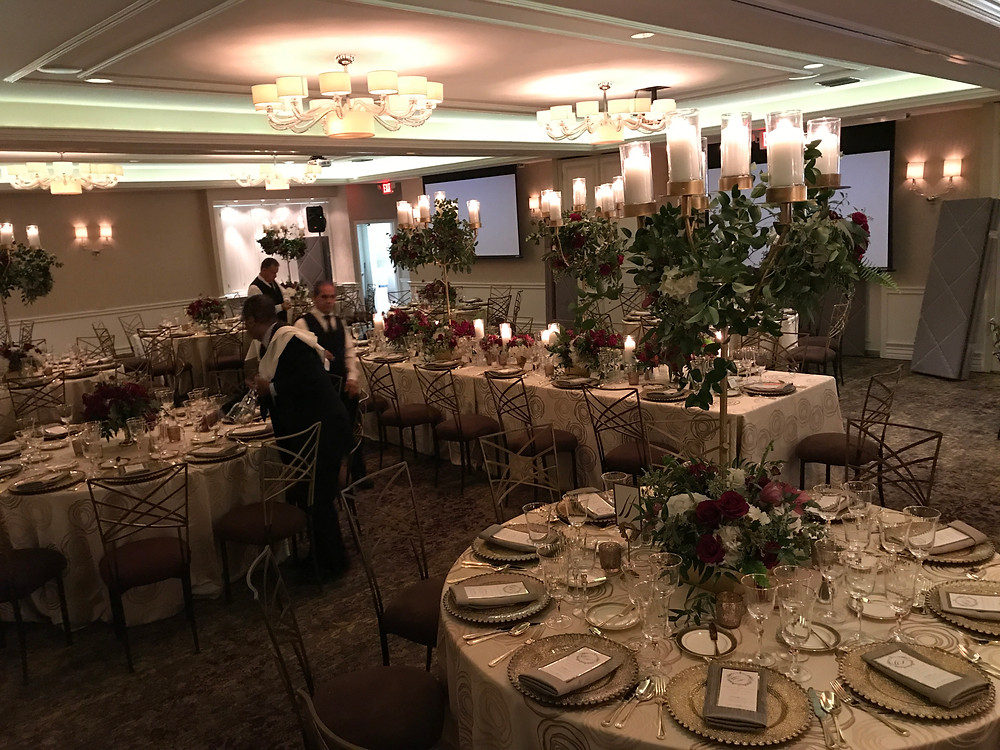 rehearsal dinner at Rosewood Mansion