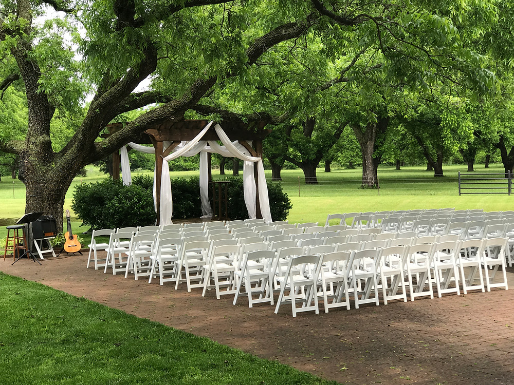 Wedding music at The Orchard Event Venue in Azle, TX