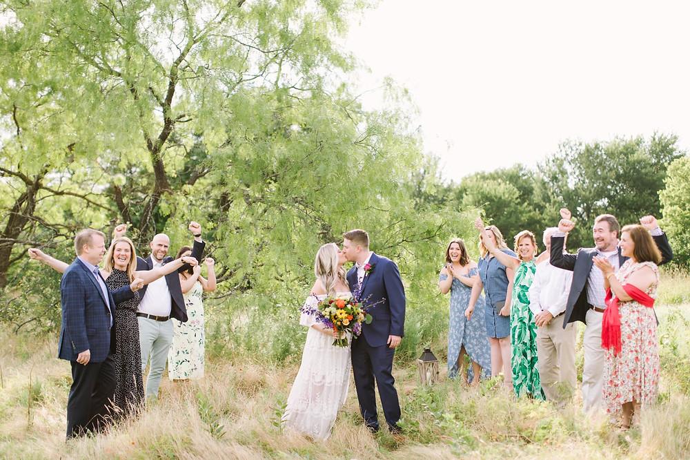 Dallas outdoor wedding