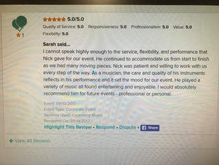 Reviews- I love to get them!