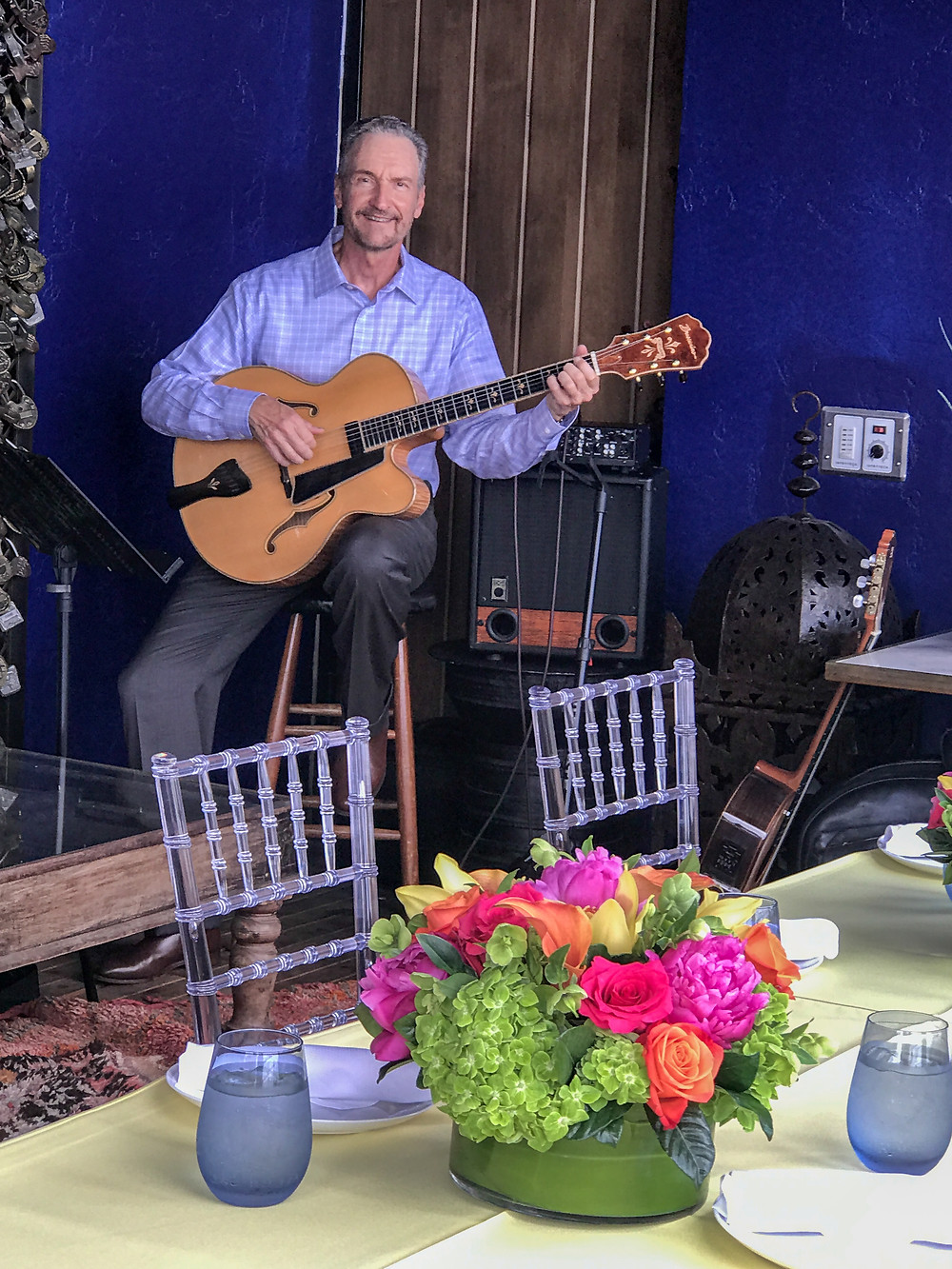 Highland Park lunch event music