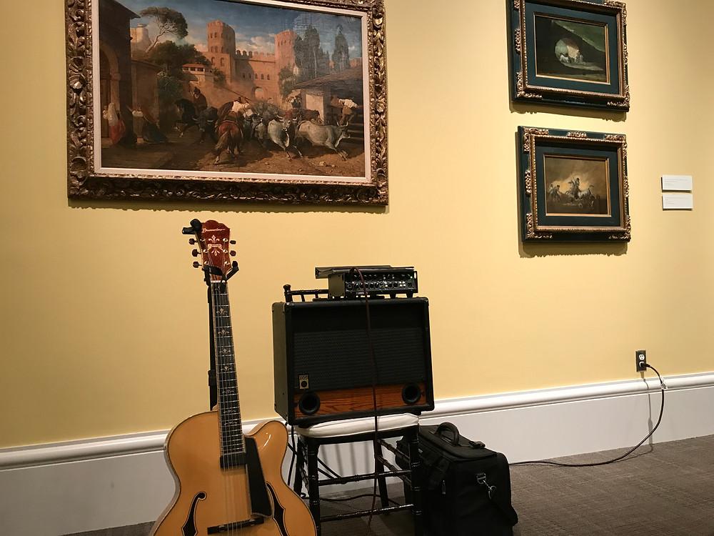 guitar music at Meadows Museum