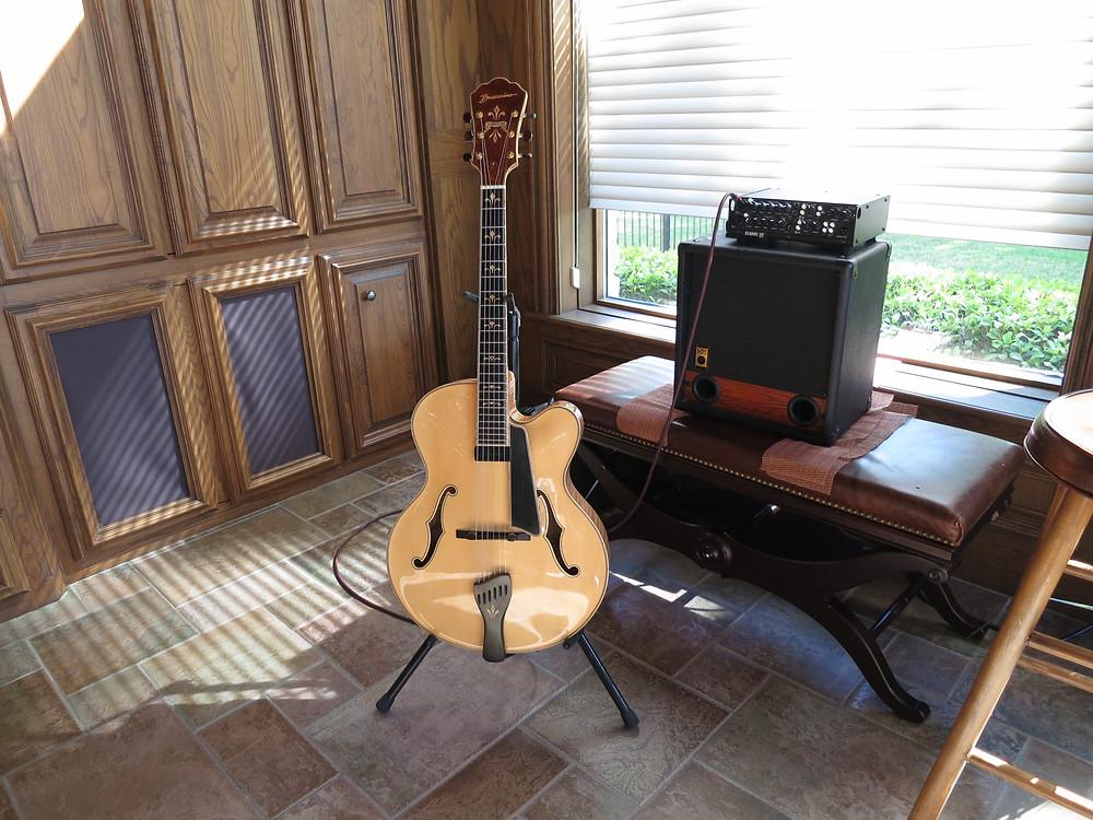 Plano jazz guitar