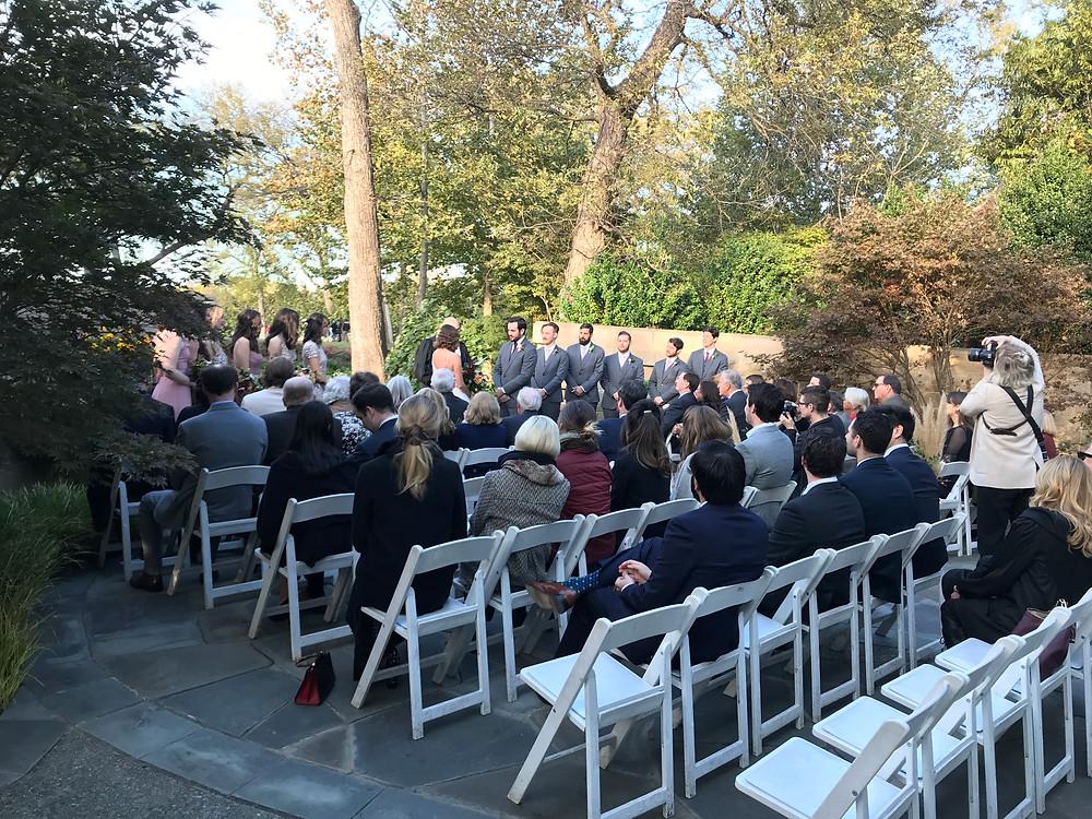 Red Maple Rill wedding