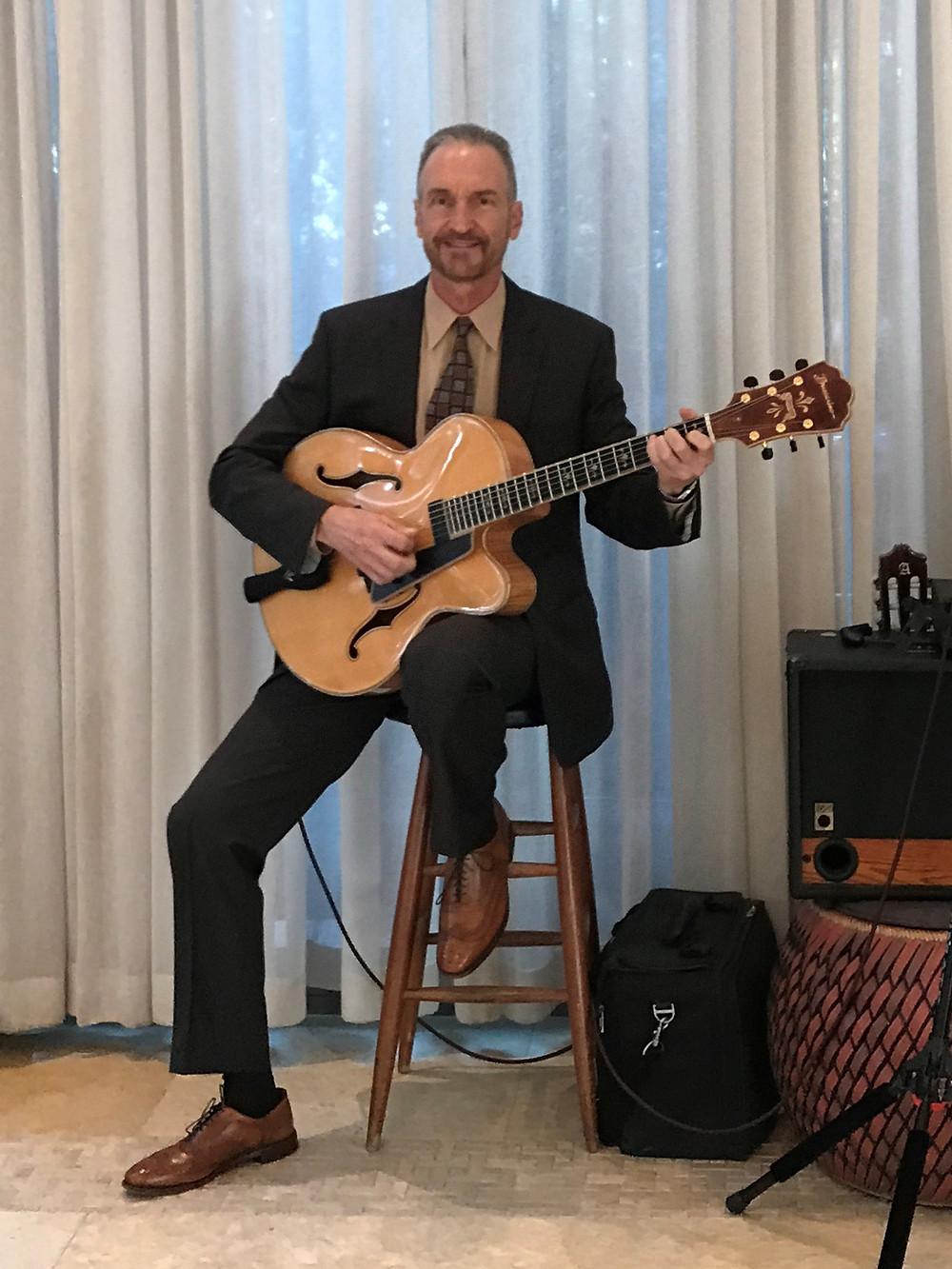 Guitarist for Dallas Planners Event