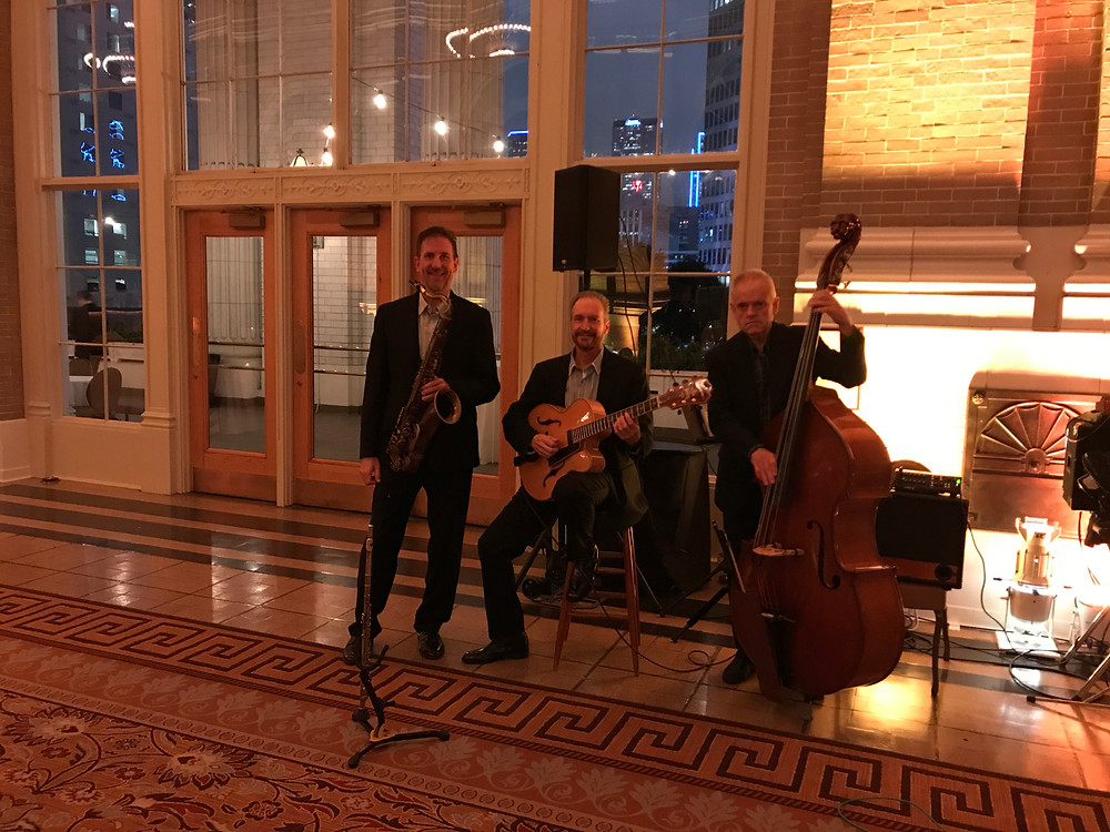 Nick DiGennaro Jazz trio at Union Station, Dallas