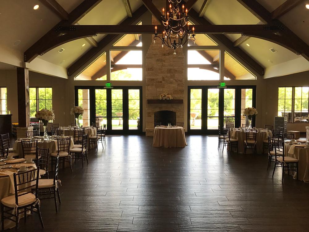 The Laurel reception space