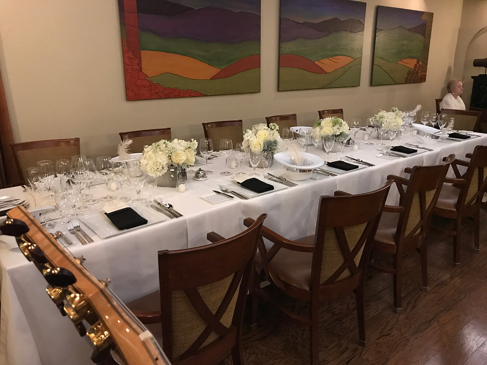 Lakewood Country Club dinner party