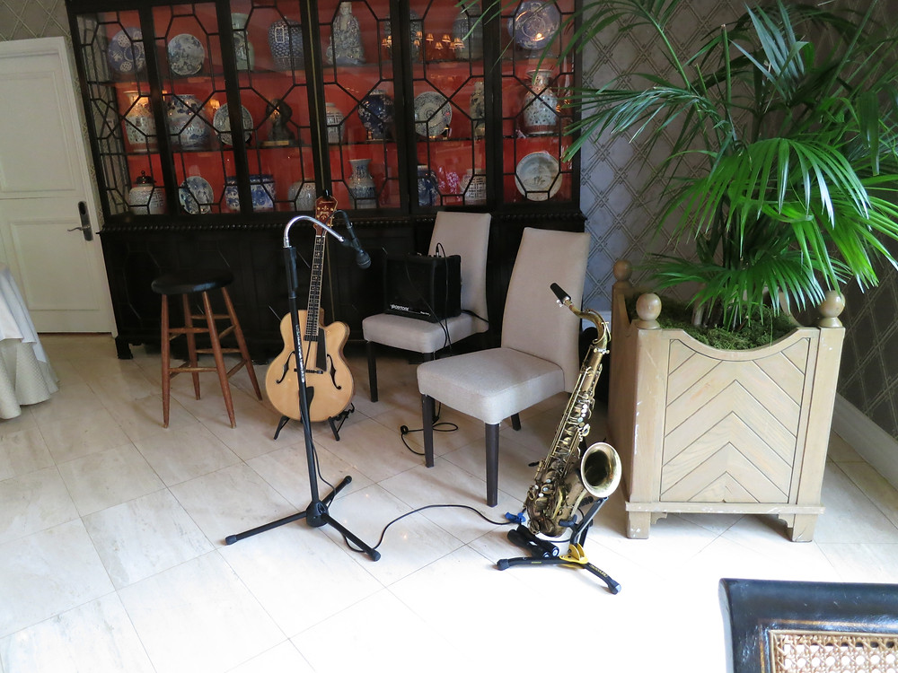 Music for rehearsal dinner at the Mansion