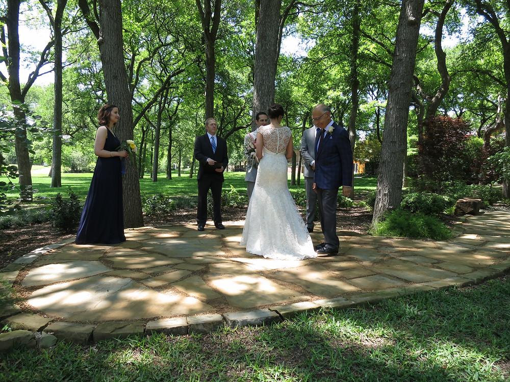 Bent Tree wedding
