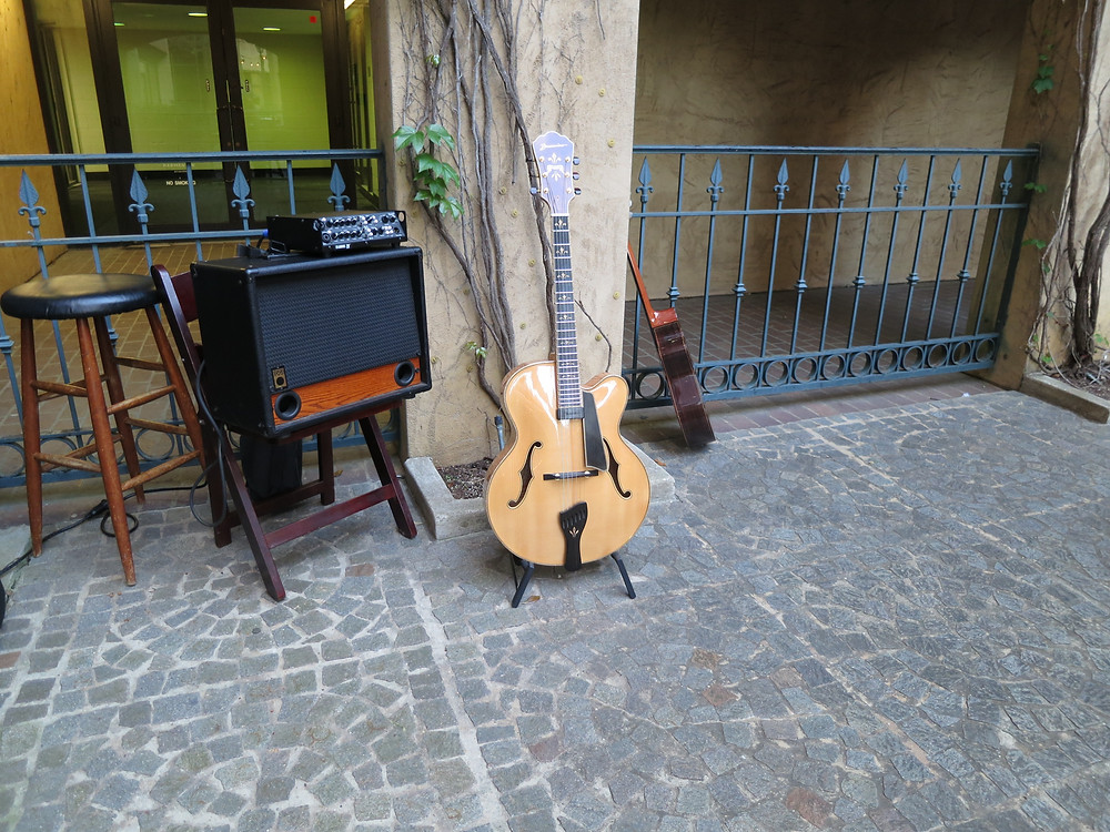 guitar music on the canal