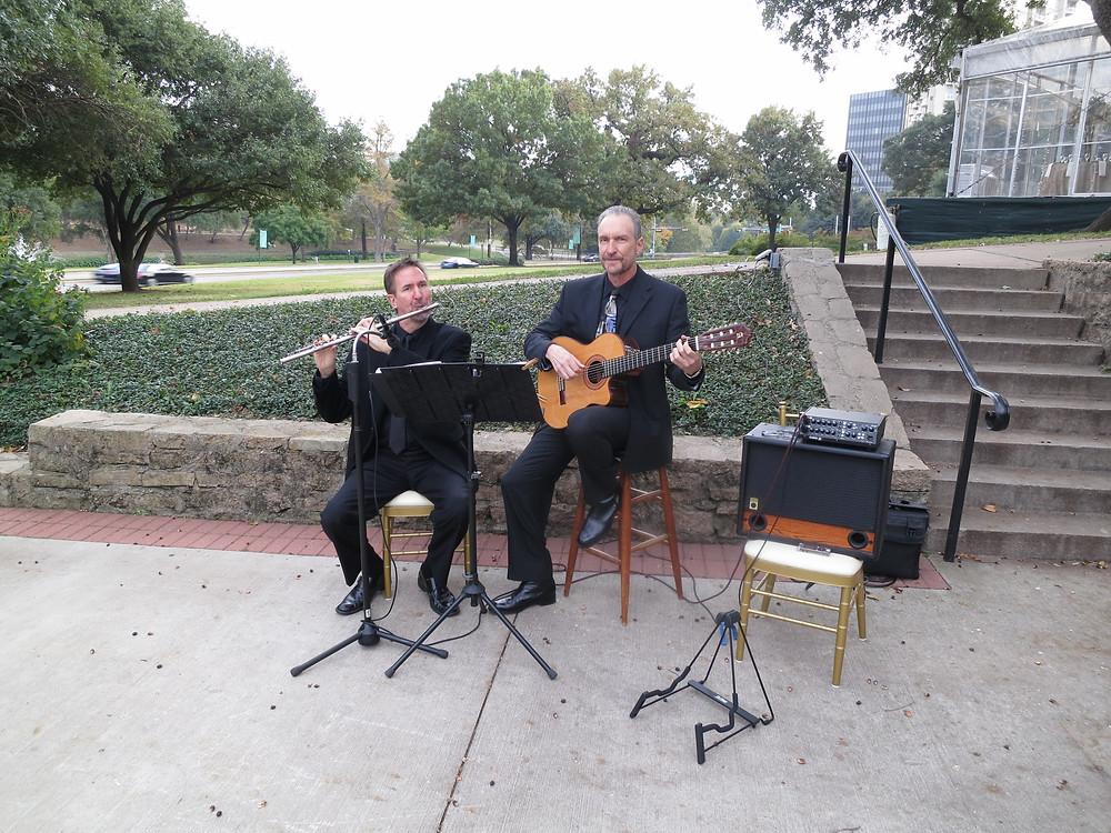 Classical duo for Dallas wedding