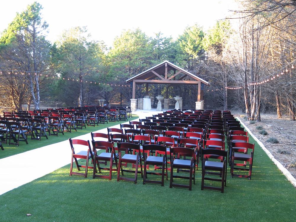 wedding at hidden creek