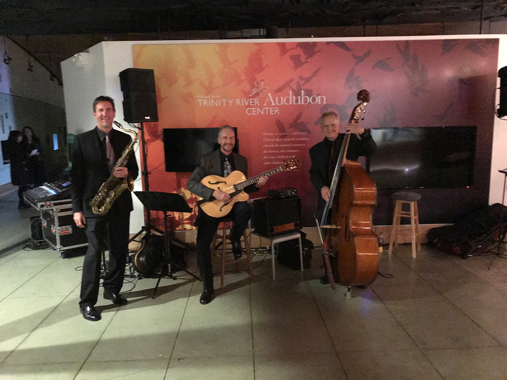 Jazz trio for Dallas wedding reception