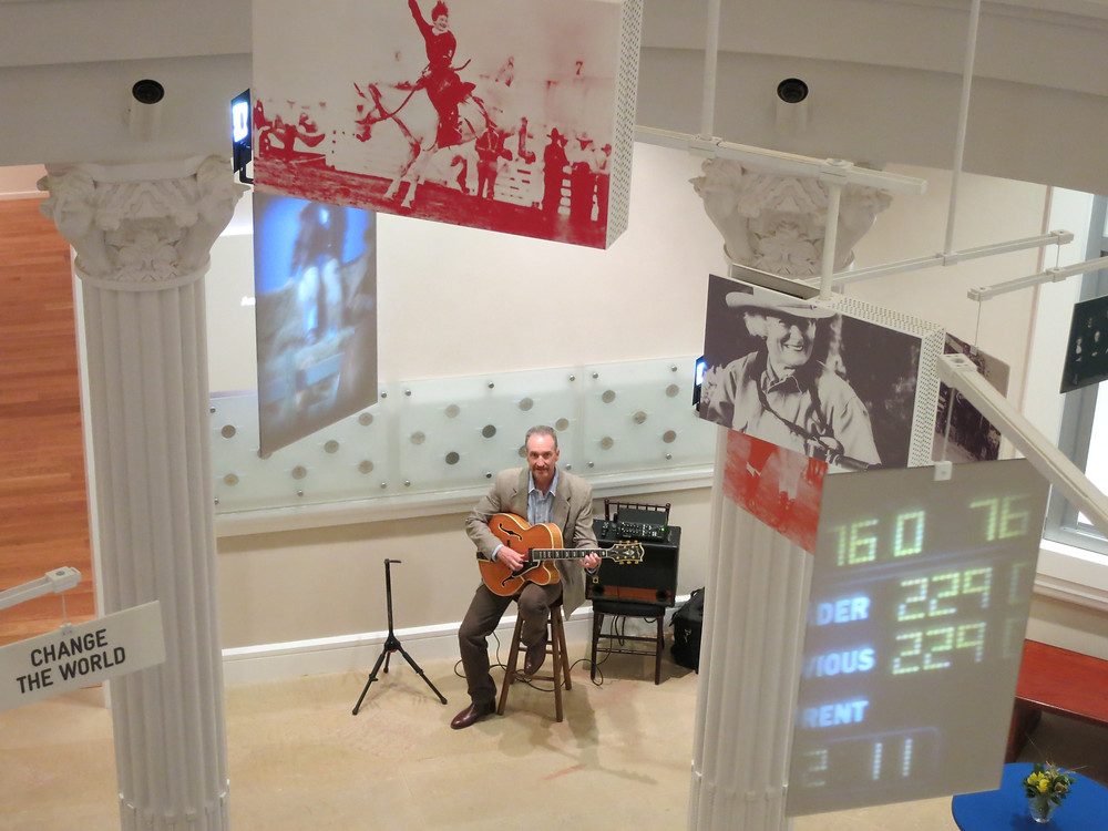 guitar music at the Cowgirl Museum