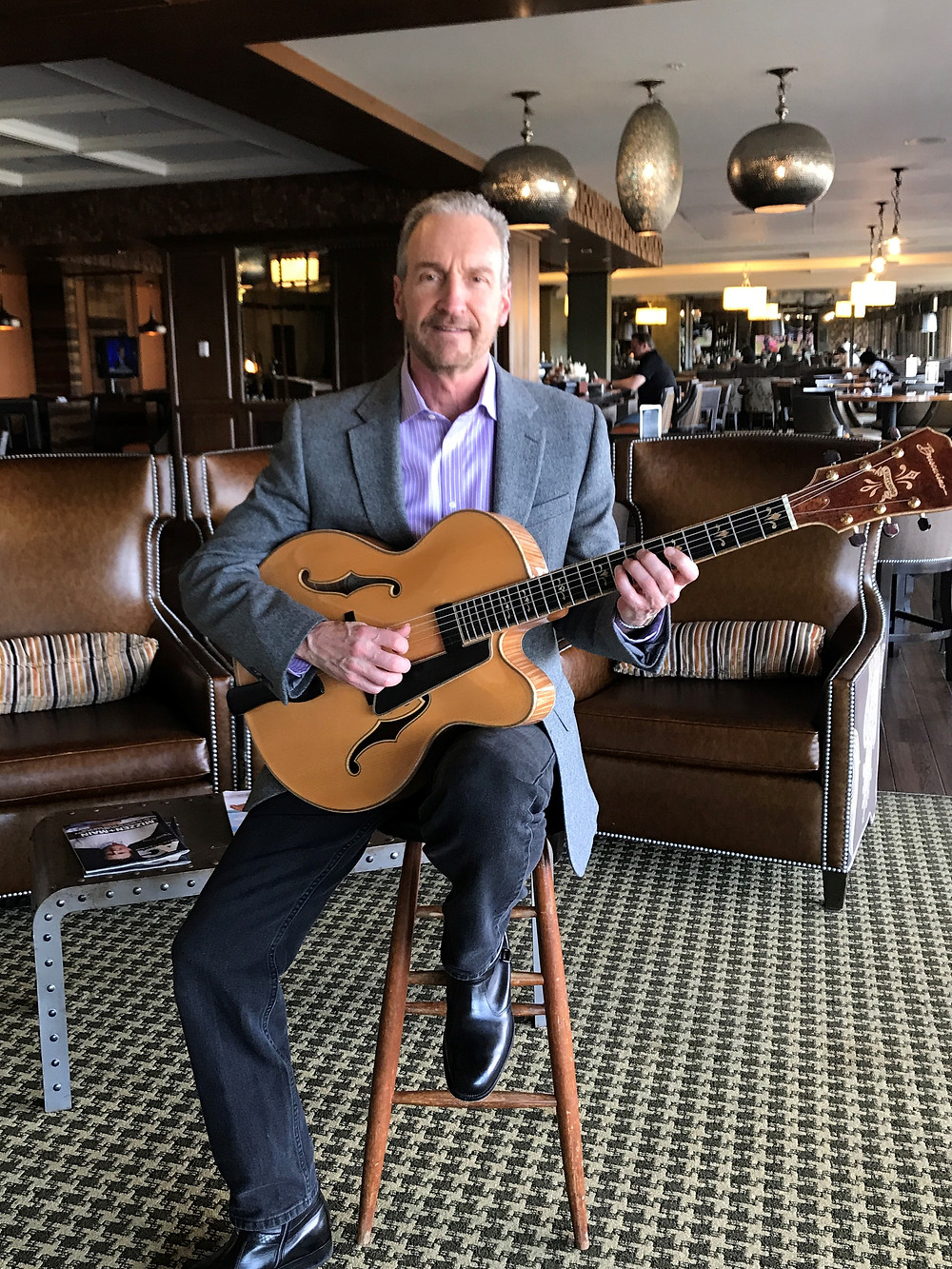 guitar music at Las Colinas Country Club