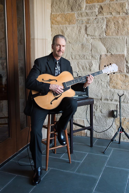 Nick DiGennaro plays music at Dallas Country Club