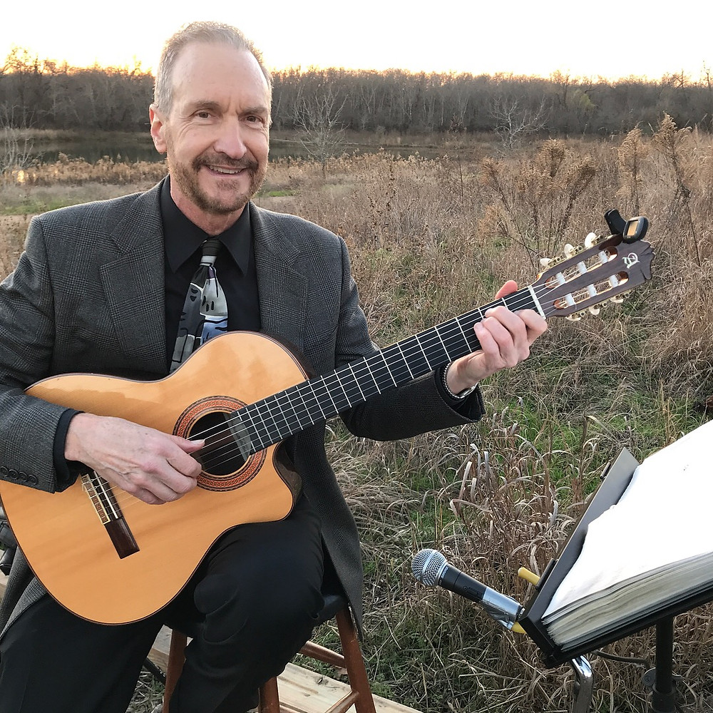 guitarist for Trinity Audubon Center