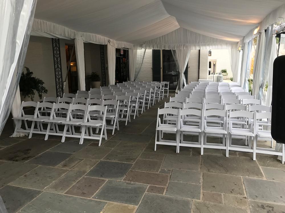 Arboretum Camp House wedding