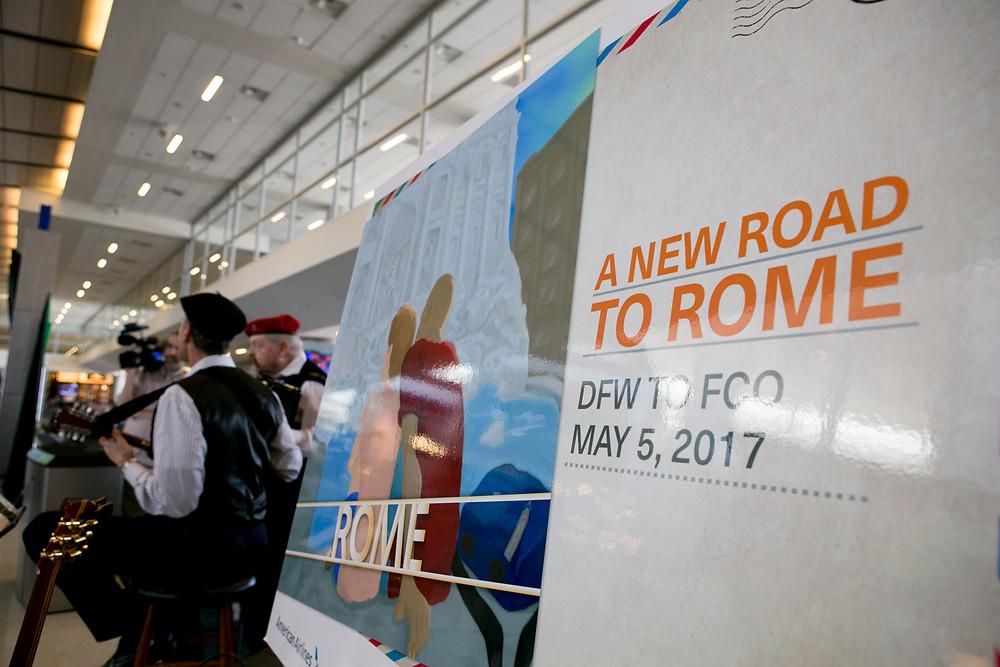 Italian music to accompany flight to Rome