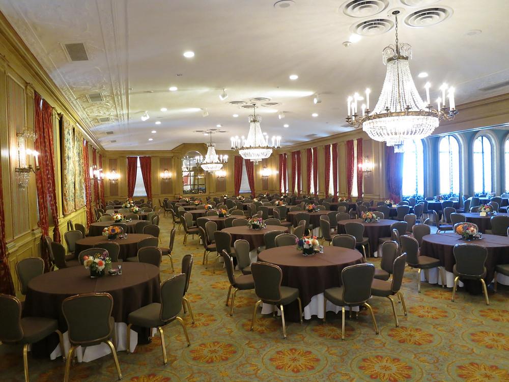 Fort Worth Club ballroom