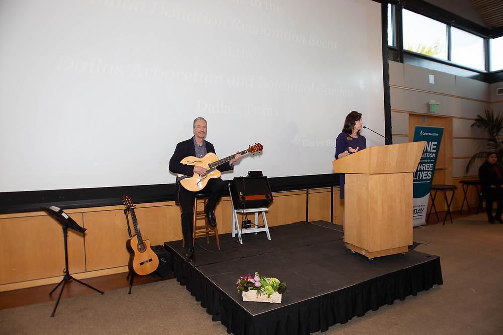 Music for Dallas Arboretum Rosine Hall