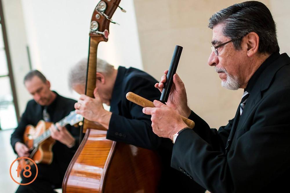 Jazz trio at Bush Presidential Center