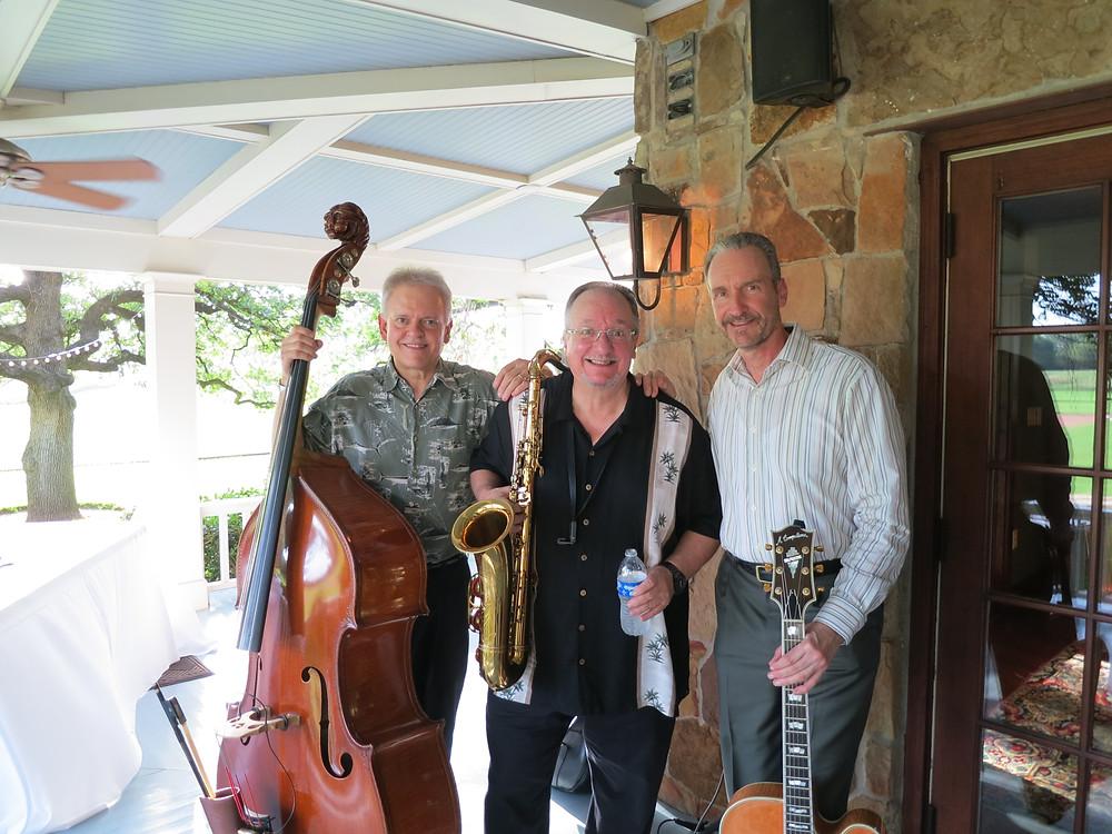 Jazz trio at the farm