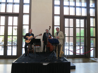 On Stage at the Bush Library