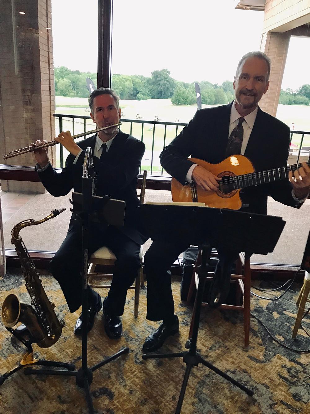 Dallas wedding guitar and flute