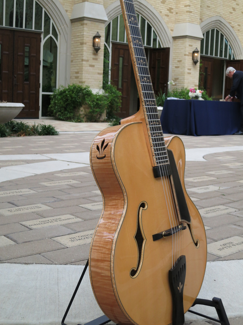 guitar music for dallas church event