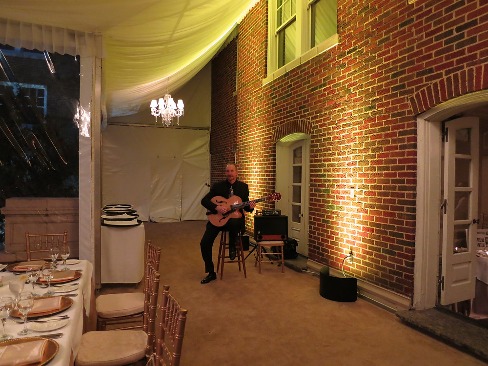Music at the Warwick Melrose Hotel