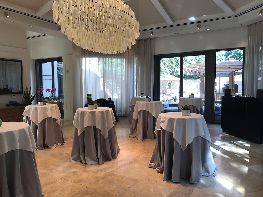 Sendero room at Fearing's restaurant