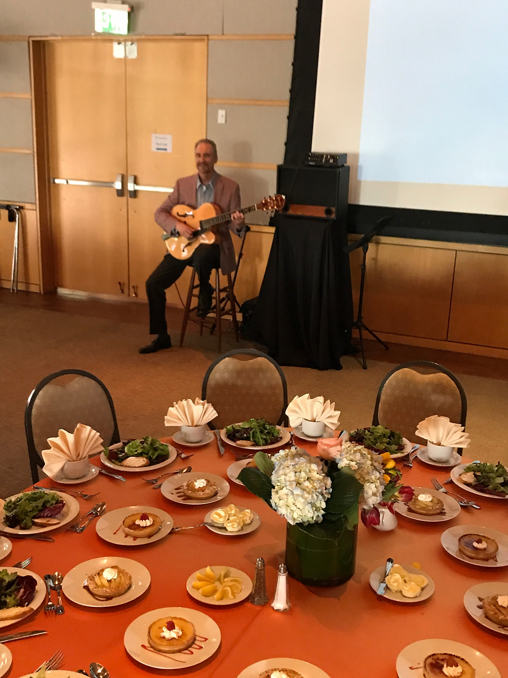 Classical guitar for events