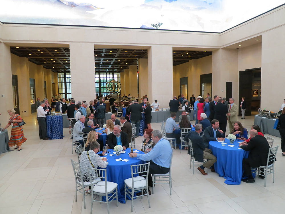 Event music at the Bush Library